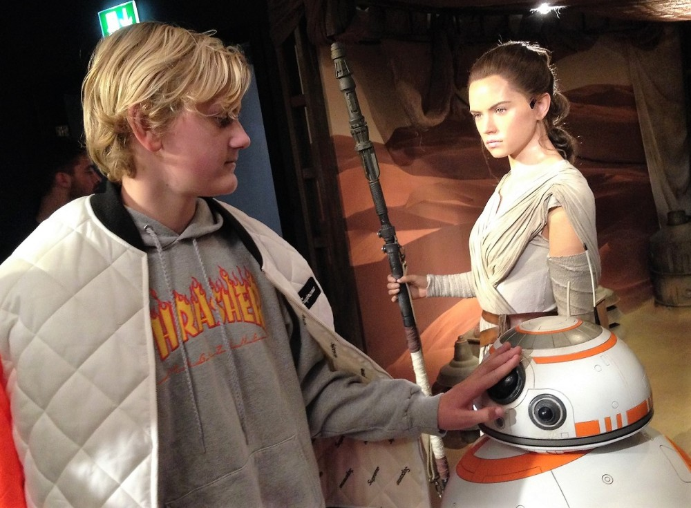 Star Wars in Madame Tussauds in London