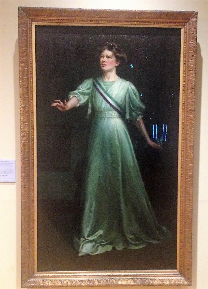 Portrait of Christabel Bankhurst