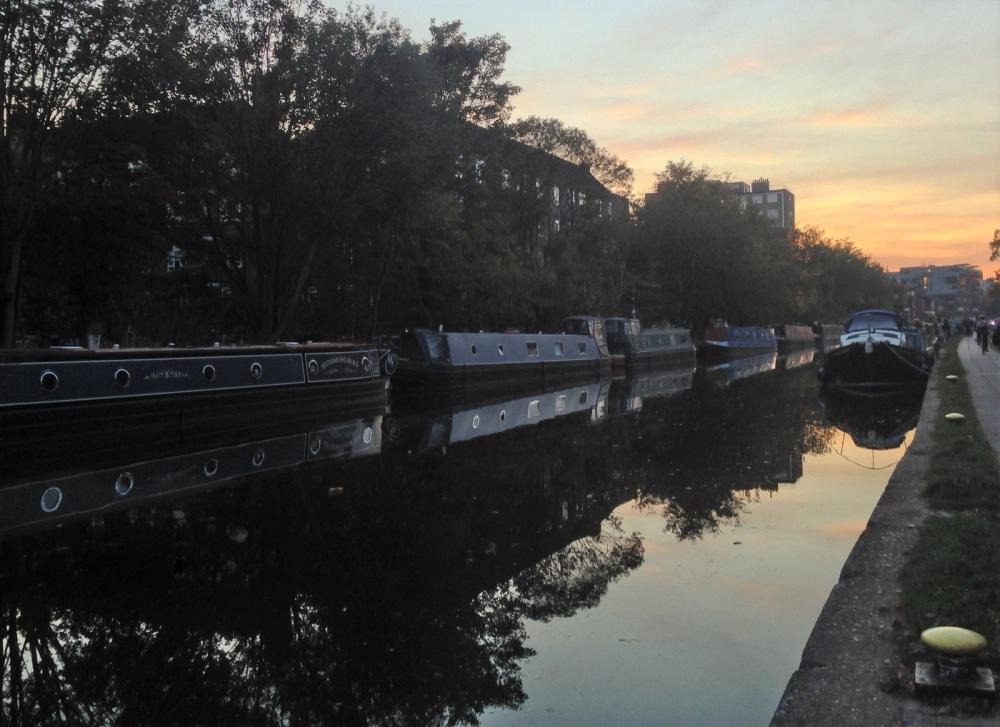 regent's canal in London