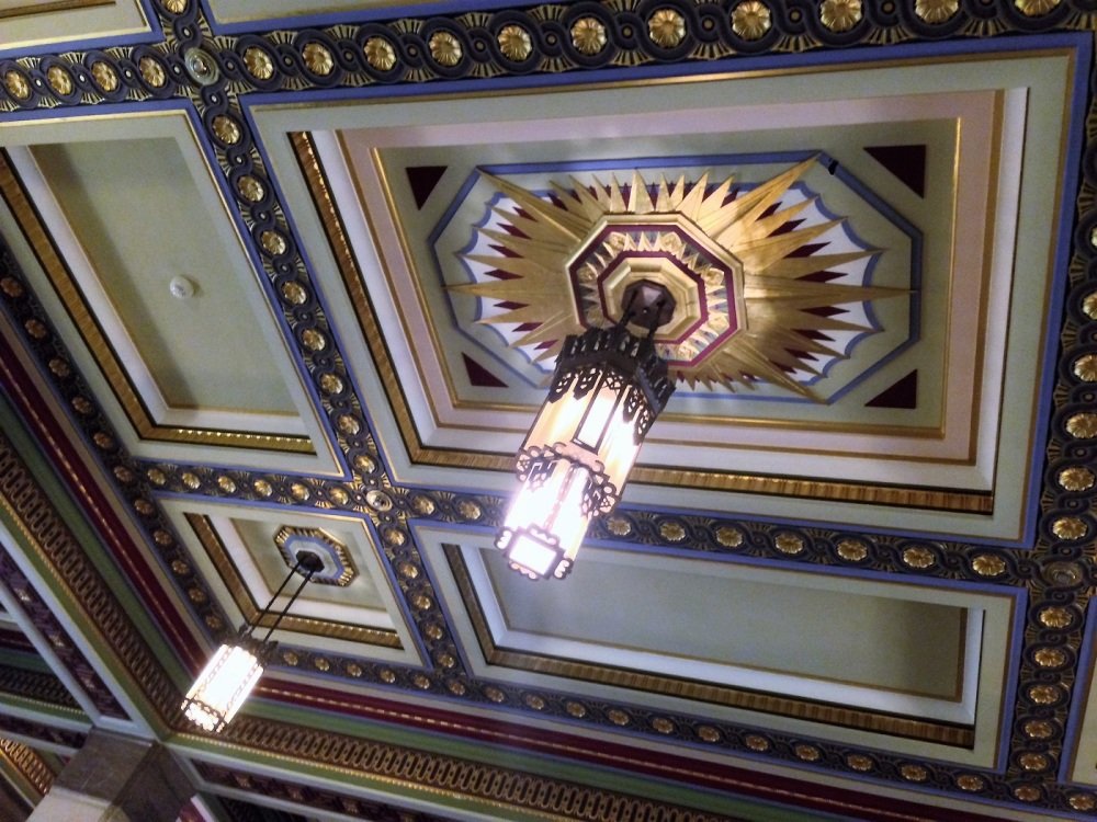 Roof at the Freemason's Hall in London