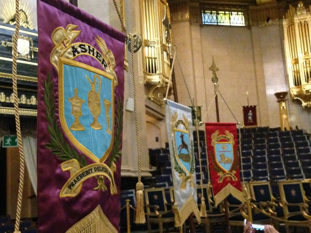 The Grand Temple in Freemason's Hall