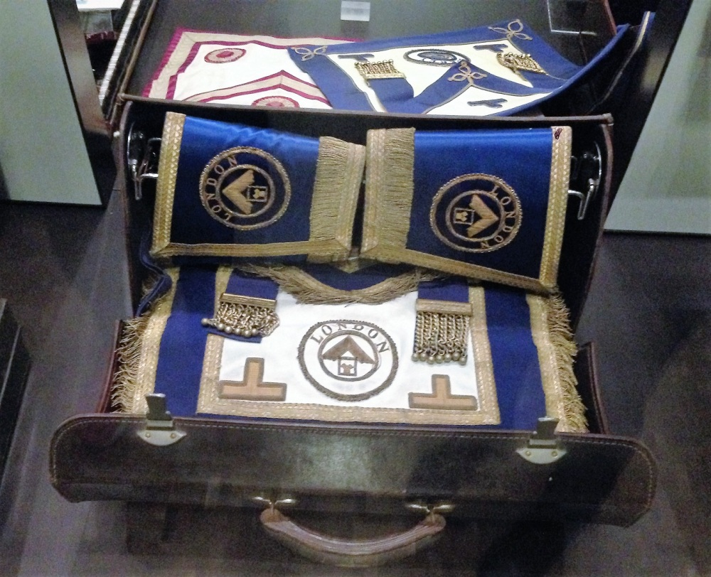 Freemason item at The Library and Museum of Freemasonry in London