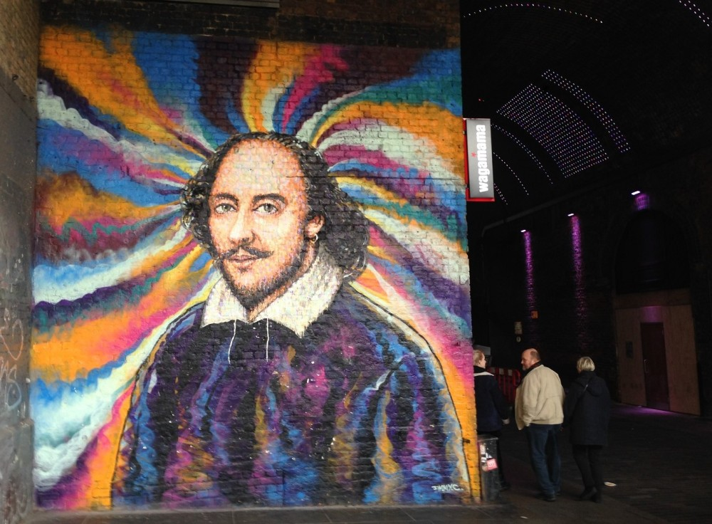 Mural Shakespeare, London