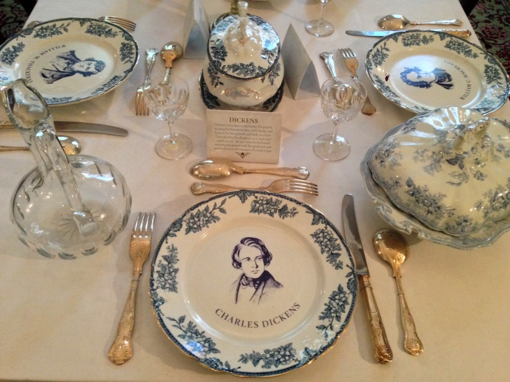 A plate in Charles Dickens Museum, London