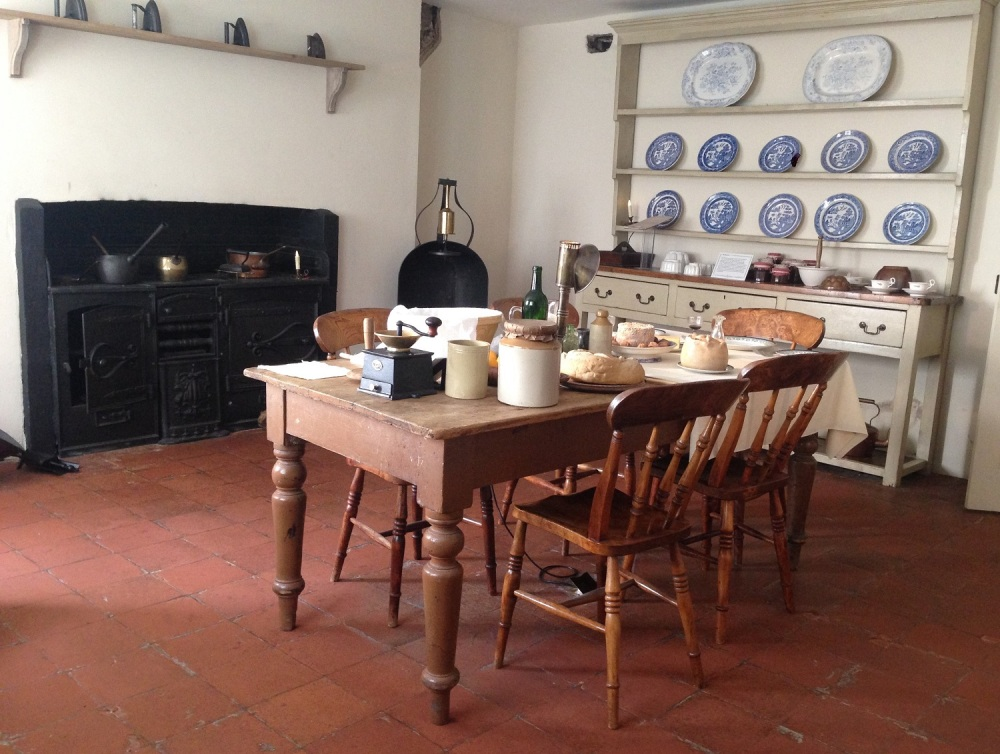 Kitchen in Charles Dickens Museum, London.