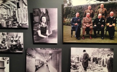 Snapshots from the Churchill Museum.