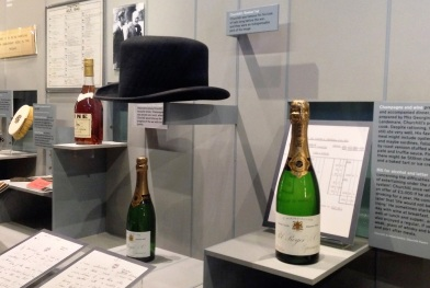 The famous bowler hat and Churchill's favourite drinks.
