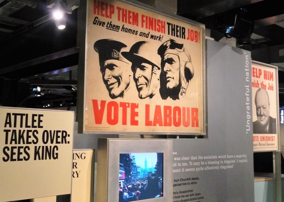 Posters in Churchill Museum