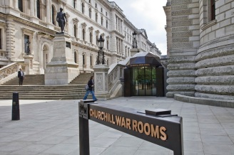 Exterior view of Churchill War Rooms.