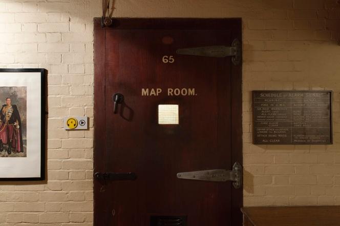 Map Room Door